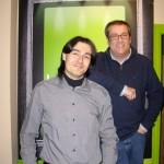 Pachi Aldeguer y yo después del programa.