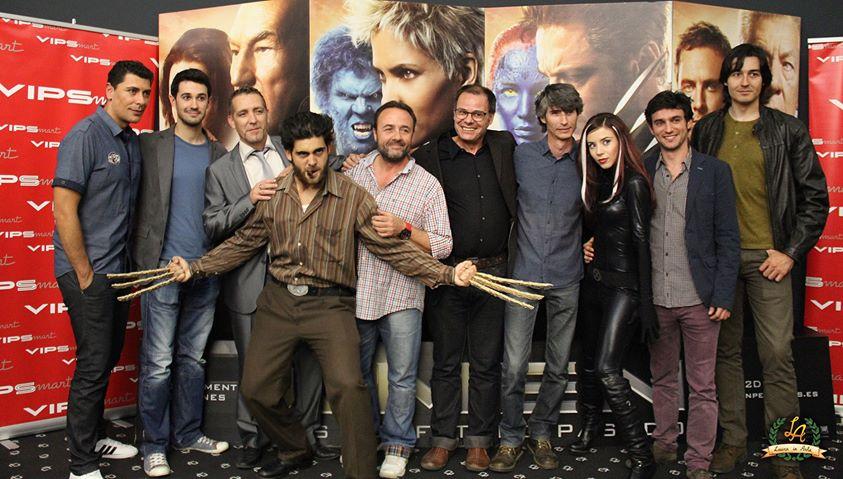 """El doblaje en la premiere de """"X-Men: Días del Futuro Pasado"""""""