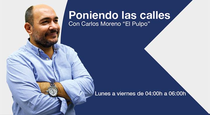 """Mi entrevista con El Pulpo en """"Poniendo las Calles""""."""