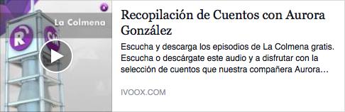 """Los cuentos de Aurora González en """"La Colmena""""."""