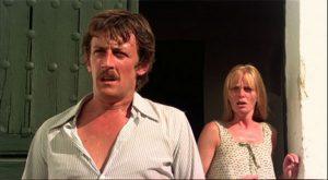 """Lewis Fiander y Prunella Ransome, protagonistas de """"¿Quién puede matar a un niño?""""."""