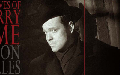 """Las aventuras de Harry Lime"", con Orson Welles."